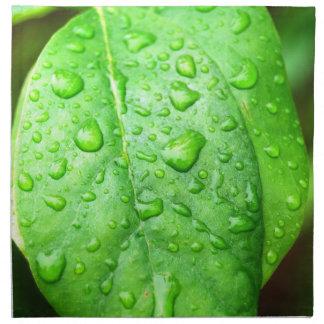 Frühlingsregenserviette Bedruckte Serviette