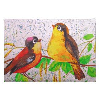 Frühlingsvögel Tischset