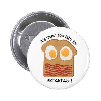 Frühstück! Anstecknadelbutton
