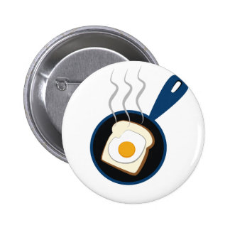 Frühstück Anstecknadelbutton