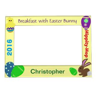 Frühstück mit Osterhasen-magnetischen Foto-Rahmen Magnetischer Bilderrahmen
