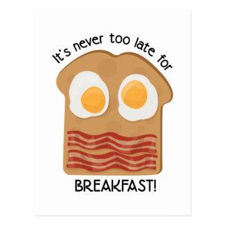 Frühstück! Postkarte