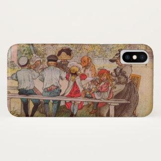 Frühstück unter der Birke durch Carl Larsson iPhone X Hülle