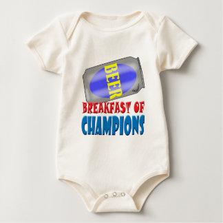 Frühstücks-Bier Baby Strampler