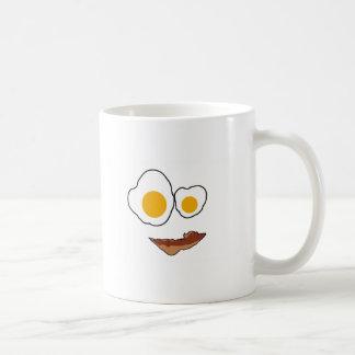 Frühstücks-Gesichts-Produkte Kaffeetasse