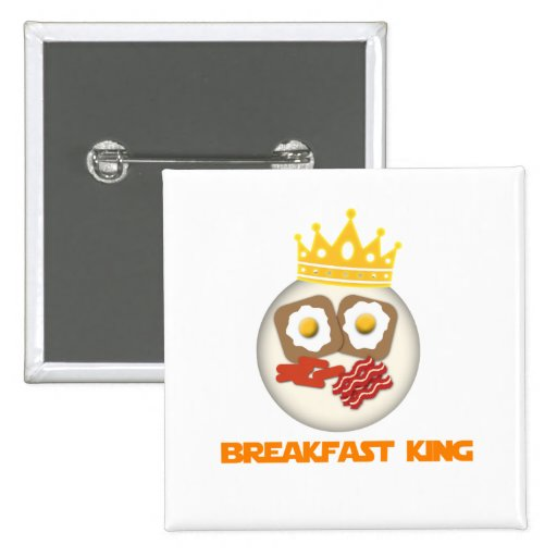 Frühstücks-König Button