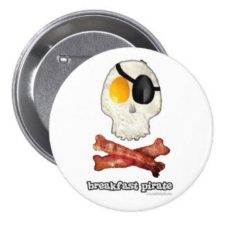 Frühstücks-Pirat… Anstecknadelbutton