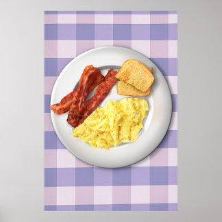 Frühstücks-Plakat Ron Swansons der Größe Poster