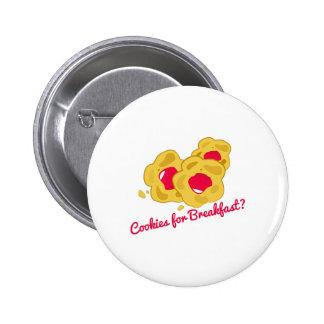 Frühstücks-Plätzchen Buttons