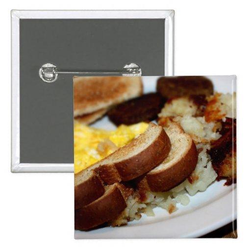 Frühstücks-Stapel Buttons