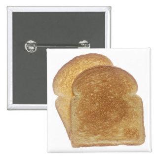Frühstücks-Toast Anstecknadelbuttons