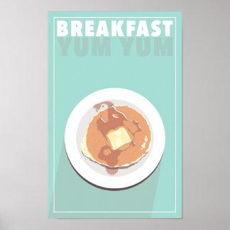 Frühstücks-Yum Plakat