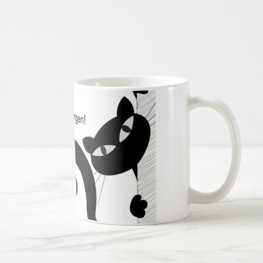 """Frühstückstasse """"Guten Morgen"""" mit Logo Kaffeetasse"""