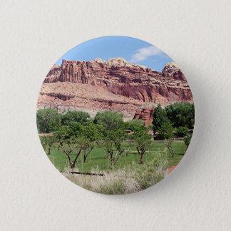 Fruita, Hauptstadts-Riff-Nationalpark, Utah, USA 2 Runder Button 5,1 Cm