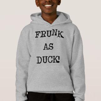 Frunk als Ente Hoodie