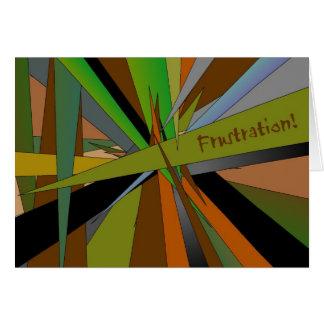 Frustration! Karte