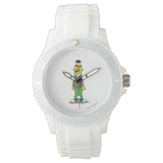 Frustrierter Bert Uhr