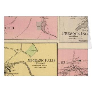 Ft Fairfield, Presque Insel, Karibu Karte