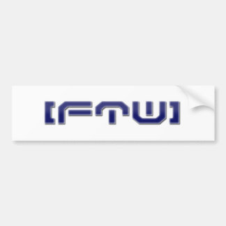 [FTW] Einfaches Logo Autoaufkleber