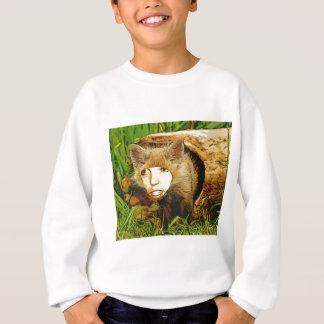 Fuchs des menschlichen Gesichtes Sweatshirt