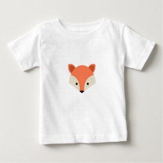 Fuchs Tiernatur-niedlicher Baby T-shirt