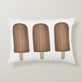 Fudge-Brown-Eiscreme-Pop Fudgesicles Popsicles Zierkissen