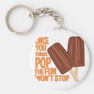 Fudge-Pop Schlüsselanhänger