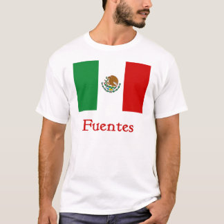 Fuentes-mexikanische Flagge T-Shirt