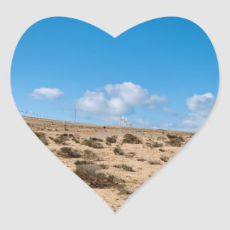 Fuerteventura Herz-Aufkleber