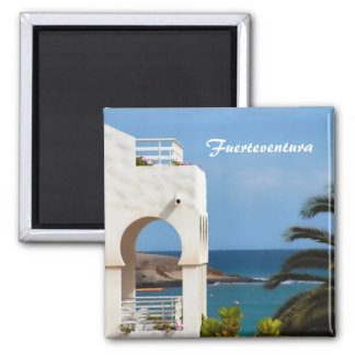 Fuerteventura-Magnet Quadratischer Magnet