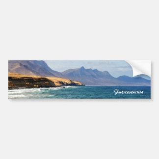 Fuerteventura, malender Effekt Autoaufkleber