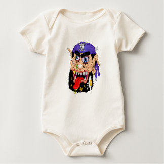 Fugbeard der Pirat Baby Strampler