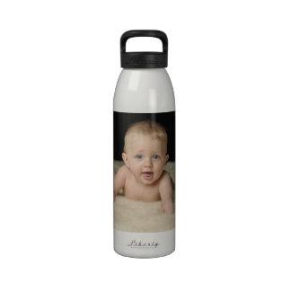 Fügen Sie Ihr Foto dieser Flasche hinzu Wasserflasche