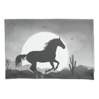 Fügen Sie Ihr Text-Pferd in der Kissenbezug