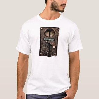 fügen Sie Münze hier ein T-Shirt