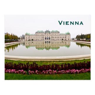 Fügen Vintage Tourismus-Reise Wiens hinzu Postkarte