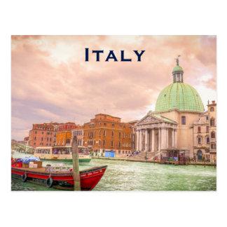 Fügen Vintager Reise-Tourismus Italiens hinzu Postkarten