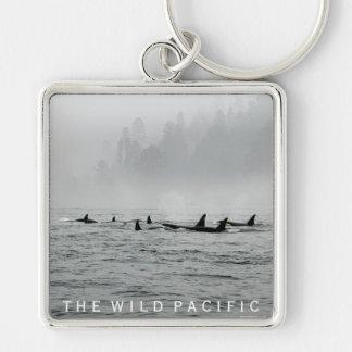 Führen der Wale Schlüsselanhänger