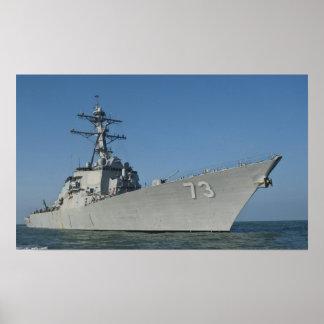 Führen-Raketenzerstörer USS Decatur (DDG 73) Posterdruck