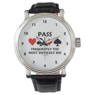 Führen Sie häufig die schwierigste Angebot-Brücke Armbanduhr