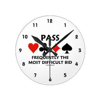 Führen Sie häufig die schwierigste Angebot-Brücke Uhren
