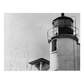 Führen Sie Manchac Leuchtturm Postkarte