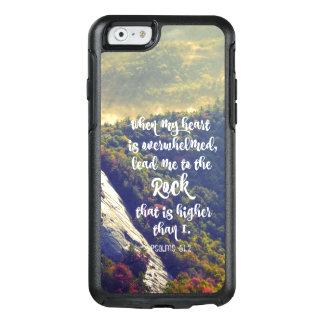 Führen Sie mich zum Felsen-Bibel-Vers OtterBox iPhone 6/6s Hülle