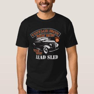Führen Sie Vintages cooles des Schlitten T Shirt