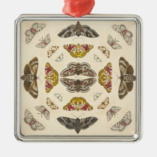 Führen Sie von Platte IV einzeln auf Silbernes Ornament