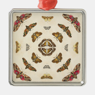 Führen Sie von Platte VIII einzeln auf Silbernes Ornament