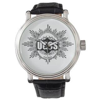 Führers, der zu Tic-Startkonfiguration geht Armbanduhr