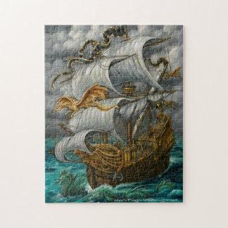 Führung des Weisen-Piraten-Schiffs-und Puzzle