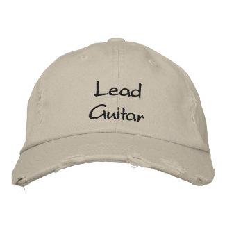 Führungs-Gitarren-Musik/gestickter Hut Baseballmütze