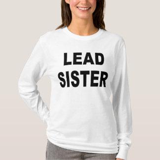 Führungs-Schwester-T - Shirt